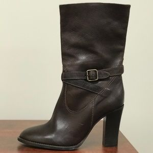 🛍 J. Crew NWOT genuine leather boots size 7